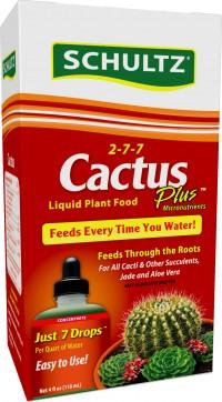 Schultz cactus plus liquid plant food 2-7-7 - 4 oz, 12 ea