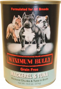Replenish Pet Inc. maximum bully canned dog food - 13.2 oz, 12 ea