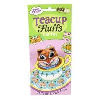 Fuzzu Llc chipmunk tea cup fluffs series catnip toy - medium, 72 ea