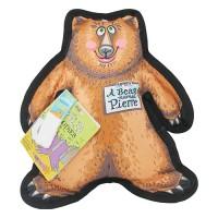 Fuzzu Llc pierre the bear dog toy wild woodies - large, 36 ea