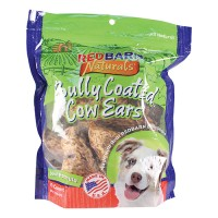 Redbarn Pet Products Inc bully coated cow ears dog treats - 10 pack, 6 ea