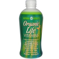 Natural vitality organic life vitamin liquid - 30 oz