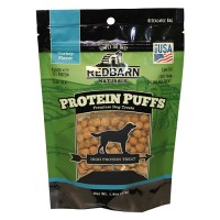 Redbarn Pet Products Inc protein puffs dog treat - 1.8 ounce, 12 ea