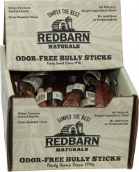 Redbarn Pet Products Inc odor free bully stick - 7 inch, 35 ea