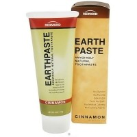 Redmond earth paste amazingly natural toothpaste, Cinnamon - 4 oz