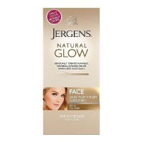 Jergens Natural Glow Healthy Complexion Daily Facial Moisturizer, Fair to Medium Skin - 2 Oz