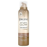Jergens Natural Glow Foaming Daily Skin Moisturizer, Medium to Tan - 6.25 oz