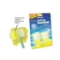 Kids Snap-On Toothbrush Sanitizer Dr. Tung's - 2 ea, 6 pack