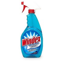 Windex Glass Cleaner Blue Trigger 26 oz - 12 ea, 12 Pack