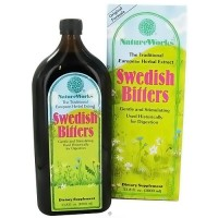 NatureWorks Swedish Bitters dietary supplement liquid - 33.8 oz