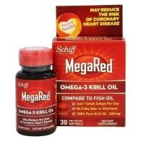 Schiff MegaRed Omega-3 Krill Oil Softgels, 30 Day Supply - 30 ea
