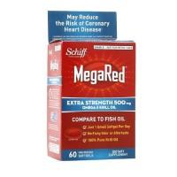 Schiff megared extra strength 500 mg omega3 krill oil- 60 ea