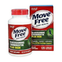 Schiff move free advanced plus 1500 mg MSM joint strengthener tablets - 120 ea