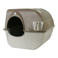Omega Paw, Inc. self-cleaning litter box - large, 4 ea