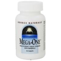 Source Naturals Mega one multi vitamin tablets - 90 ea