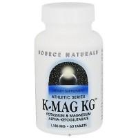 Source Naturals K-Mag KG 1175 mg tablets - 60 ea