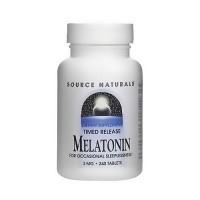 Melatonin 3mg timed release tablets - 240 ea