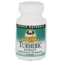 Source Naturals Turmeric extract metabolic inflammation tablets - 50 ea