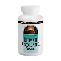 Ultimate ascorbate C powder, dietary supplement - 8 oz