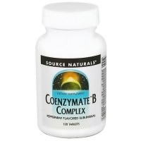 Source Naturals Coenzyme B Complex, Pepermint - 120 Sublingual Tablets