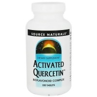 Source Naturals Activated Quercetin bioflavonoid complex tablets - 200 ea