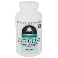Source Naturals Liver Guard CoQ10, N-Acetyl Cysteine Complex Tablets - 120 ea
