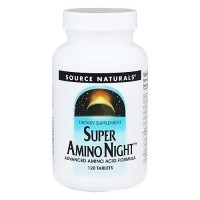 Source Naturals Super amino night tablets - 120 ea