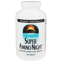 Source Naturals super Amino night tablets - 240 ea