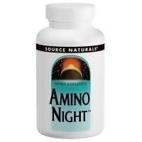 Source Naturals Amino night capsules - 120 ea
