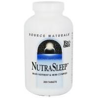Source Naturals Nutra sleep tablets - 200 ea