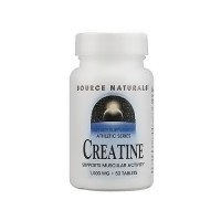 Source Naturals Creatine1000 mg tablets - 50 ea
