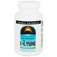 Source Naturals L-Lysine free form powder 100mg - 3.53 oz