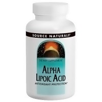 Source Naturals Alpha lipoic acid 100 mg tablets - 60 ea