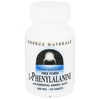 Source Naturals L-Phenylalanine 500 mg tablets - 50 ea