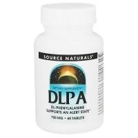 Source Naturals DLPA 750 mg tablets - 60 ea