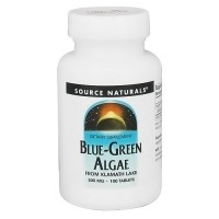 Source Naturals Blue-Green algae 500 mg tablets - 100 ea