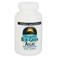 Source Naturals Blue-Green algae 500 mg tablets - 200 ea