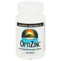 Optizinc zinc 30mg monomethionine complex tablets - 240 ea
