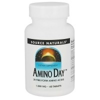 Source Naturals Amino day with 20 free form amino acids tablets - 60 ea