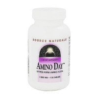 Source Naturals Amino day with 20 free form amino acids tablets - 120 ea