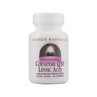 Source Naturals Coenzyme Q10 lipolic acid 30 mg / 30 mg capsules - 30 ea