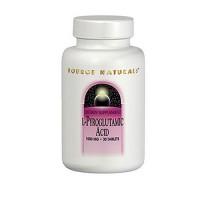 Source Naturals L-Pyroglutamic Acid 1000 mg tablets - 120 ea