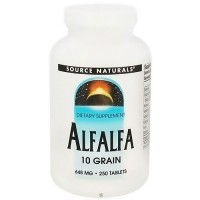Source Naturals Alfalfa 10 grain 648 mg tablets - 250 ea