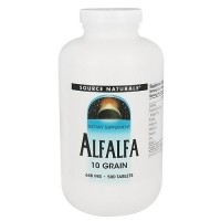 Source Naturals Alfalfa 10 grain 648 mg tablets - 500 ea