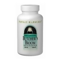 Source Naturals Butcher broom 500 mg tablets - 100 ea
