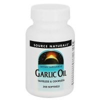 Source Naturals Garlic oil 500 mg softgels - 250 ea
