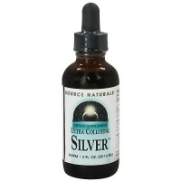 Ultra colloidal silver dietary supplement liquid by Source Naturals - 2 oz