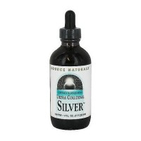 Ultra colloidal silver 10 ppm dietary supplement liquid by Source Naturals - 4 oz