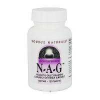 Source Naturals N-A-G N-acetyl glucosamine 500 mg tablets - 120 ea