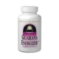 Source Naturals Guarana Energizer 900 mg Tablets - 200 ea
